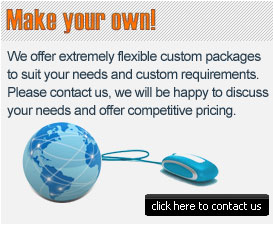 Custom e-commerce package